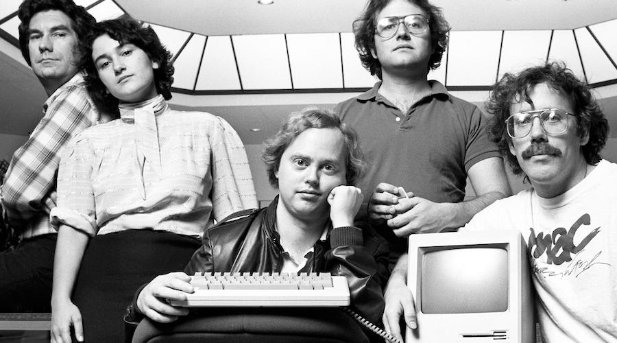 original Apple Macintosh team