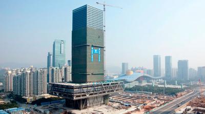 Shenzen Stock Exchange building OMA architects