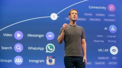 Mark Zuckerberg Facebook roadmap