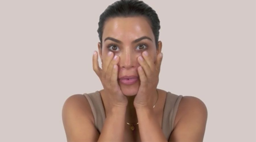 Kim Kardashian West makeup