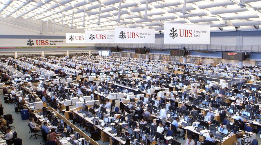 UBS call center