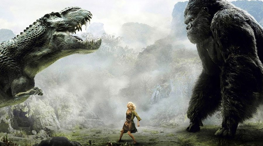 King King vs T Rex