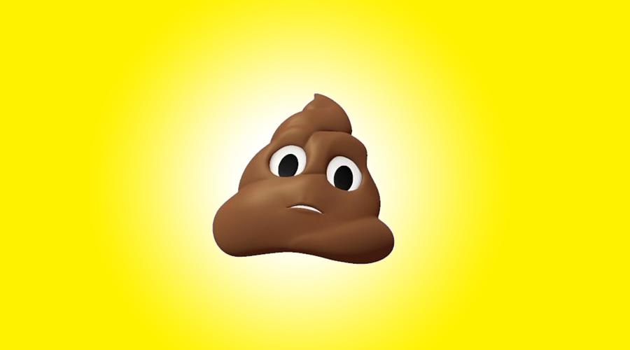 Apple poop animoji