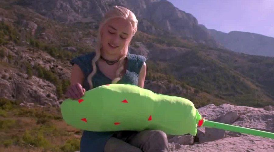Daenerys green screen