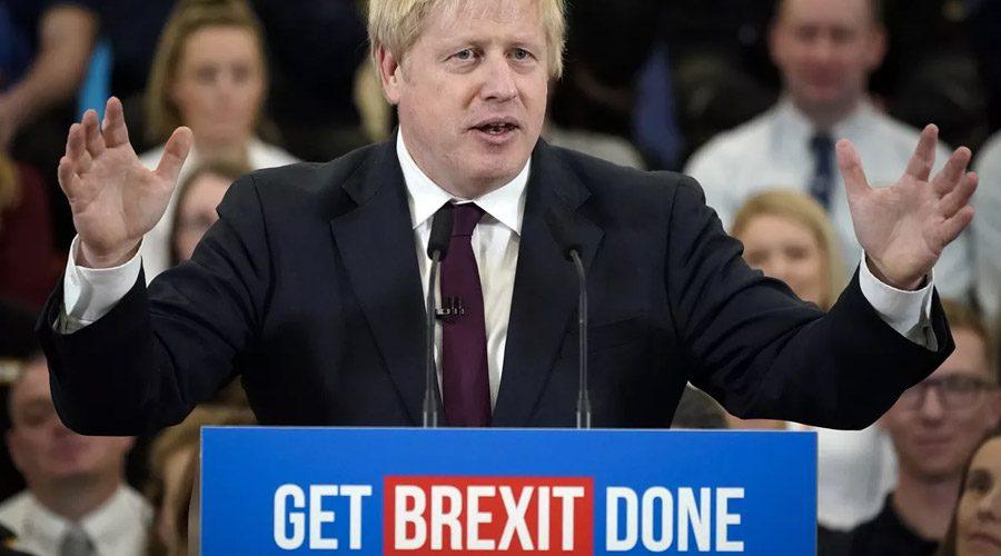 get Brexit done Boris Johnson