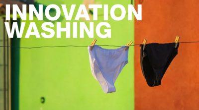 innovation washing